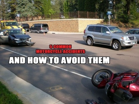 How to Avoid 5 Common Motorcycle Accidents • Motorcycle Central | Motorcycles | Bikers Safety | Scoop.it