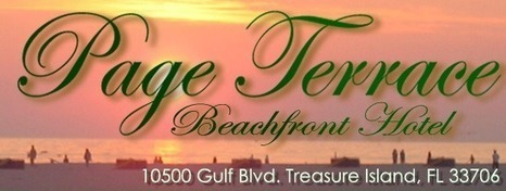 Gulf Coast Motel in Treasure Island, FL   Page Terrace Beachfront Hotel   Scoop.it
