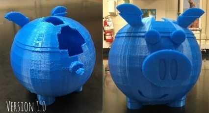 Maker Club: 3D Printed Piggy Bank - a Journey in Problem Solving | iPads, MakerEd and More  in Education | Scoop.it