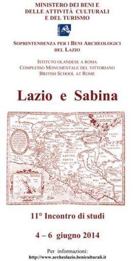 ROMA - Incontro di studi n. 11 - Lazio e Sabina || Tesori del Lazio | Mondo Trekking | Scoop.it