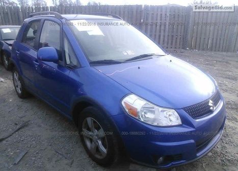 2012 SUZUKI SX4 | Salvage Auto Auction | Scoop.it