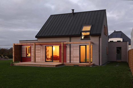 """ A Cozy, Well-Sealed Cottage in Northwest France Goes Green - a.typique Patrice BIDEAU architecte "" - Architecture Design  