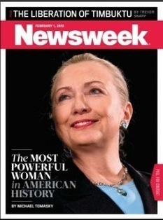Newsweek Trolls The Nation: Hillary Clinton 'Most Powerful Woman In American ... - Mediaite | Women in Politics and Government | Scoop.it