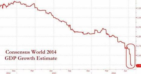 World GDP Hopes Are Collapsing   A World of Debt   Scoop.it