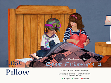 "Kids Bedroom Set by ""Lost Pillow"" 