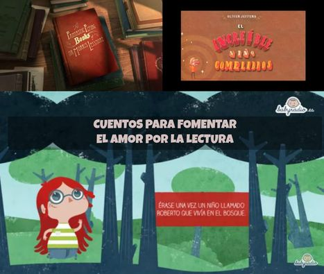 Fomentando el Amor por la Lectura – 3 Hermosos Cortos Animados | Video | Recull diari | Scoop.it