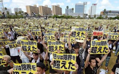 Thousands protest U.S. bases on Okinawa after Japan woman's murder | Criminology and Economic Theory | Scoop.it