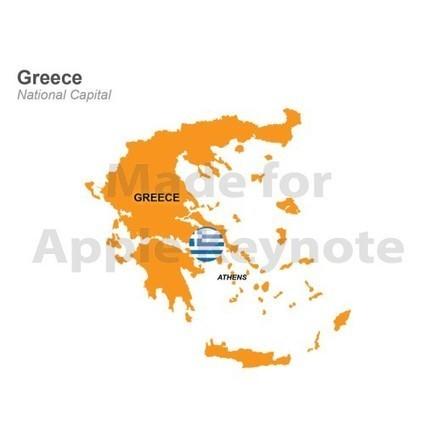 Map of Greece Template for Mac Keynote | Apple Keynote Slides For Sale | Scoop.it