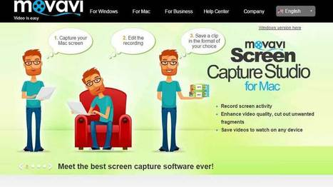Meet This Great Screen Capture Software! Meet Movavi! | EdTechReview | Scoop.it