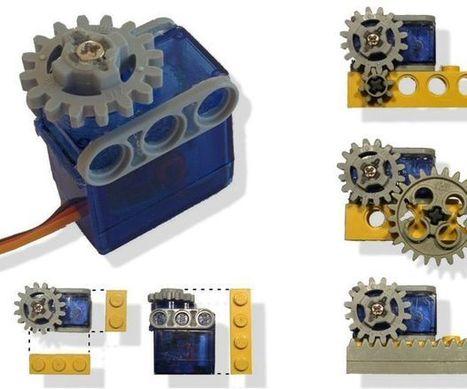 Servo-motor adapted to Lego   Arduino, Netduino, Rasperry Pi!   Scoop.it