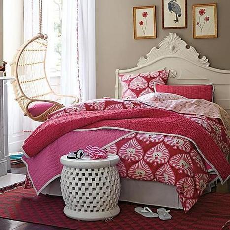Teenage Girls Bedrooms & Bedding Ideas | Designing Interiors | Scoop.it