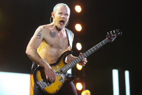 PHOTO: Red Hot Chili Peppers,  Bonnaroo 2012 | SongsSmiths | Scoop.it