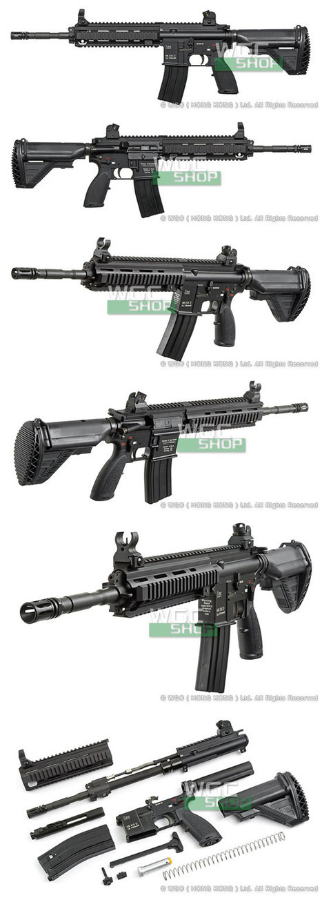 Umarex officially-licensed HK416 gas blow-back airsoft replica ... | Thumpy's 3D House of Airsoft™ @ Scoop.it | Scoop.it