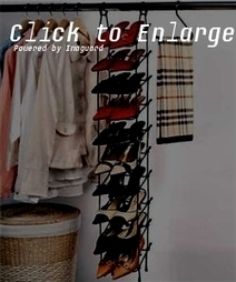 Get Rid of Footwear Clutter with Shoe Racks for Closets | Functional Home Furniture | Scoop.it