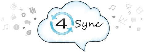 4Sync - free online syncing tool. Sync & sharing access with cloud storage. Synchronization files | Web 2.0 for your e-Classroom! | Scoop.it