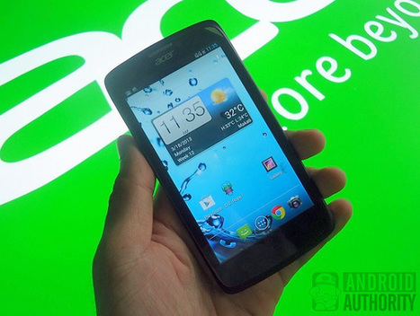 Acer Liquid C1 hands-on and quick review | Mobile IT | Scoop.it