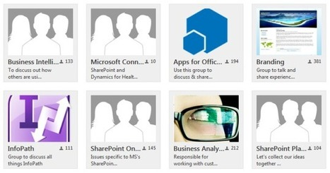 Gettin' Your Group On: An Intro to Yammer Groups | Tools for a Digital Worker | Scoop.it