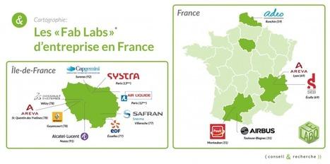 Infographic : Les « Fab Labs d'entreprise » en France | A better world | Scoop.it