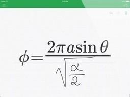 MyScript MathPad for Equations | Digital Education SA | Scoop.it