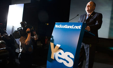 Yes Scotland boss says referendum victory 'achievable' as his troops hit the streets | Referendum 2014 | Scoop.it