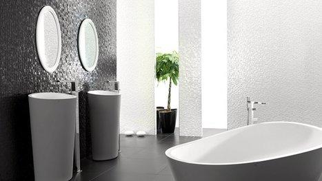 [Best-of été] De la mosaïque dans la salle de bains | Immobilier 2015 | Scoop.it