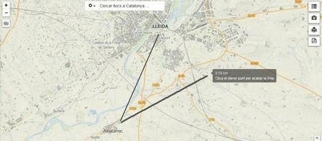 Instamaps, una nova eina per crear i compartir mapes creada per l'ICC | Geografía, una ciencia comprometida | Scoop.it