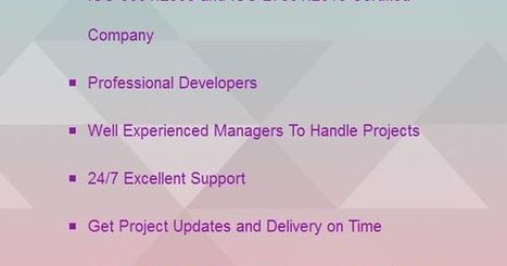 Why Hire Openwave for Outsourcing Your Project? | Web Application Development Company | Scoop.it