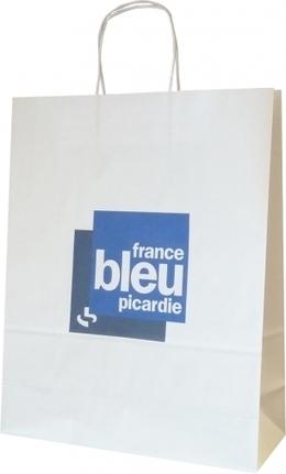Un sac papier kraft pour les 15 ans du marché de noël d'Amiens!   Sac papier publicitaire   Scoop.it