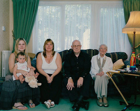 Beautiful Family Portraits with 4+ Living Generations | Le It e Amo ✪ | Scoop.it