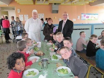 À la rentrée, 15 % des repas seront bio au restaurant scolaire , Plédran 11/03/2013 - ouest-france.fr | la cantine bio quotidienne | Scoop.it