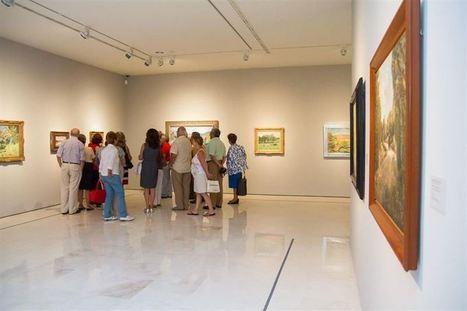 Más de 52.000 personas visitan los paisajes de Monet, Van Gogh, Léger y Courbet del Museo Thyssen de Málaga   Sociales Dani Fernández   Scoop.it