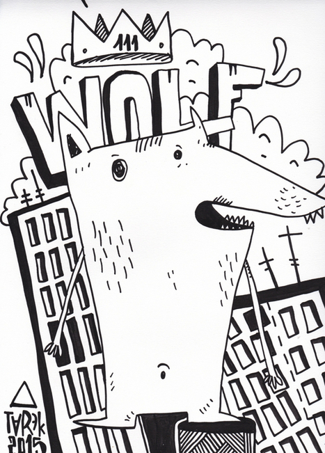 Arts Graphiques | Tarek | Tarek 27 | Tirage d'art en série limitée sur L'oeil ouvert | Les créations de Tarek | Scoop.it
