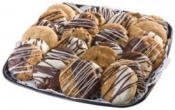 Chocolate Dipped Cookie Party Platter | Party Platters | Scoop.it