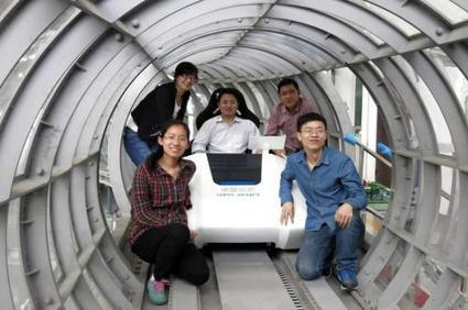 Enclosed tube maglev (magnetically levitated train) system tested in China - could one day be faster than airplanes | Cool Future Technologies | Scoop.it