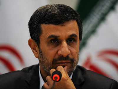 """Attack on #Iran will bring destruction of Israel: #Ahmadinejad 