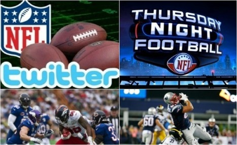 NFL Thursday Night Football Exclusively On Twitter - American Football International | SportonRadio | Scoop.it