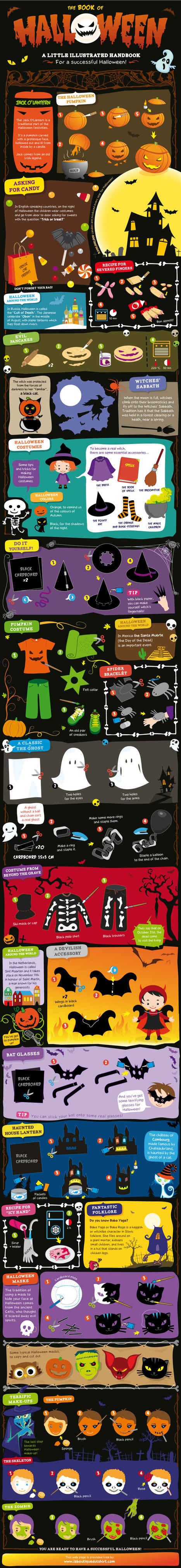 Teach Your Students about Halloween with This Halloween Book [Infographic] | Better teaching, more learning | Scoop.it