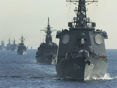 Japan displays naval muscle amid islands strife (VIDEO) | Daily Crew | Scoop.it