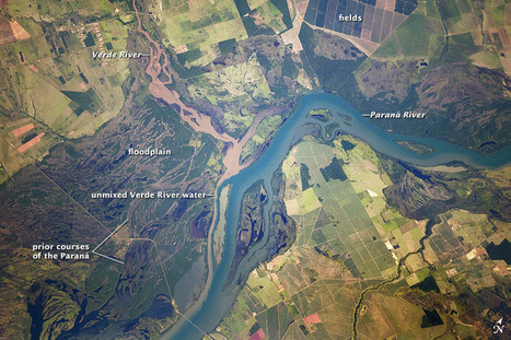 Paraná River Floodplain, Brazil : Image of the Day | Remote Sensing News | Scoop.it