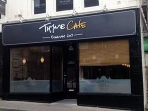 Thyme for a New Sign at Sheffield Café | News Articles | Scoop.it