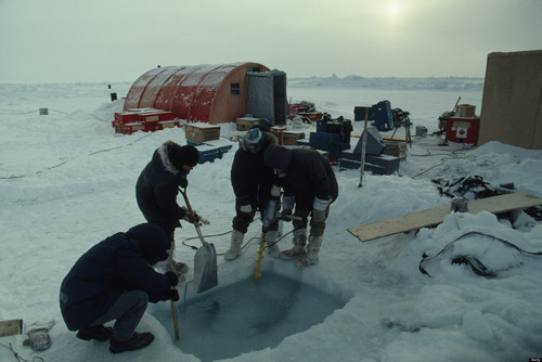 Arctic Station Evacuated After Ice Melts Underneath It