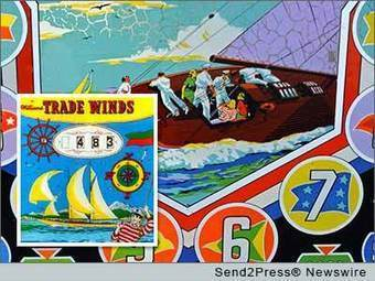 'Sailing Through Pinball' opens at the Pacific Pinball Museum August 30, 2013 - 4-traders (press release) | Pinball and Arcade Machines | Scoop.it