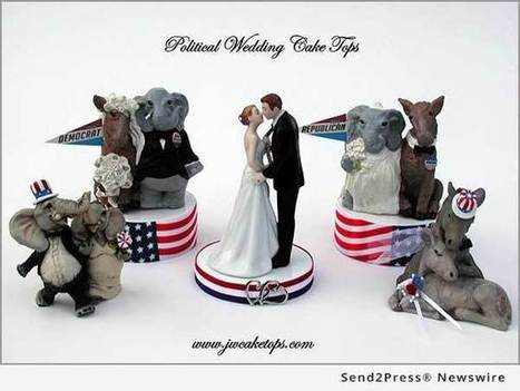 Jayne Williams Company announces first ever political wedding cake toppers for Republican and Democrat Bride and Grooms | Send2Press Newswire | Send2Press Newswire | Scoop.it
