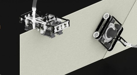 Researchers Develop Minibuilders, Tiny Robots Capable of 3D Printing Large Buildings | Electronica y robotica | Scoop.it