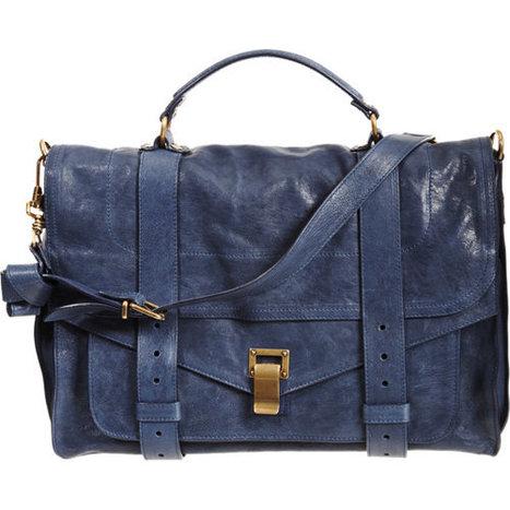 Proenza Schouler PS1 Large Leather   Top Handbags   Scoop.it