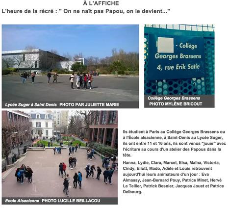 Les Papous à l'école ! - France Culture   Ressources en ligne pour les collégiens   Scoop.it