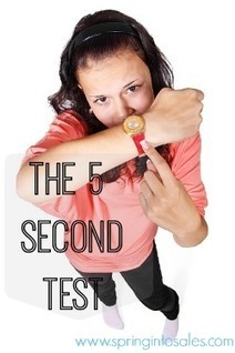 Does your website survive the 5 second test? - Spring into Sales | Small Business | Scoop.it