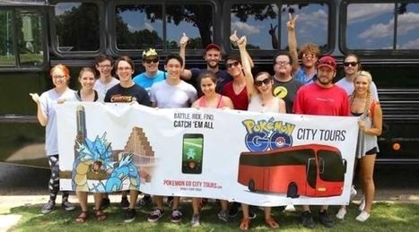 Poke turismo: come catturare i pokemon con il tour della città | Social media culture | Scoop.it