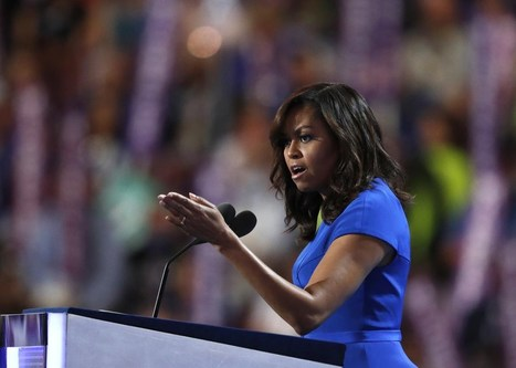 8 writing lessons from Michelle Obama's DNC speech | Multimedia Journalism | Scoop.it