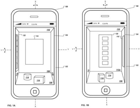 Apple Researching Motion-Sensing Virtual 3D User Interface for iOS Devices | Latest Apple News Blog | Apple SKY | mlearn | Scoop.it